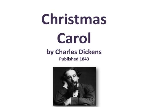 Christmas Carol - Literacy Activities