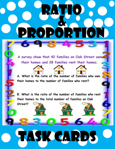 Ratio and Proportion Task Cards by moedonnelly - Teaching Resources ...