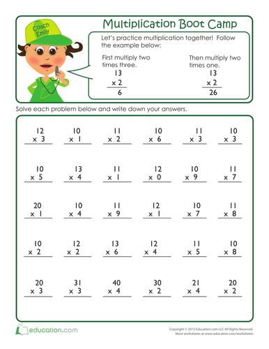 multiplication-boot-camp-drill
