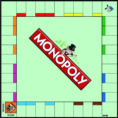 Monopoly Board Template by swift_sonya - Teaching Resources - Tes