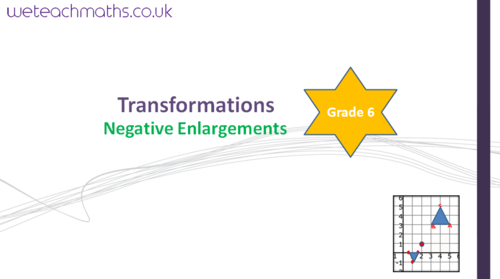 Negative Enlargements - Transformations (GCSE Maths 1 - 9)