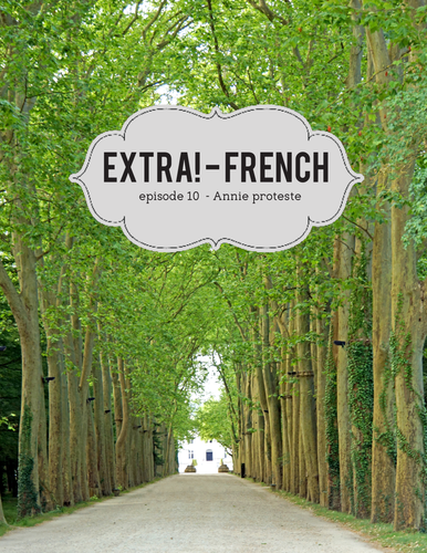 Extra! French - worksheets to accompany episode 10 -Annie proteste