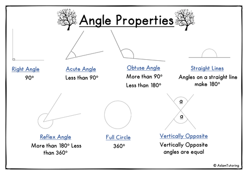 GCSE Maths (9-1)Angle Properties