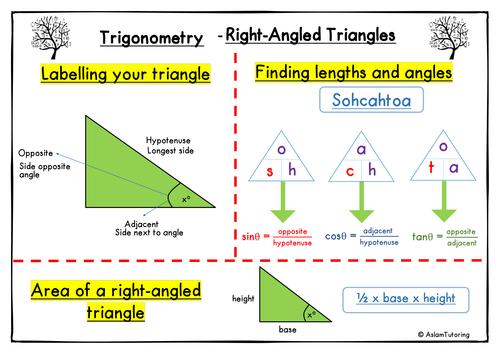 GCSE Maths (9-1) Trigonometry - Right-Angled Triangles