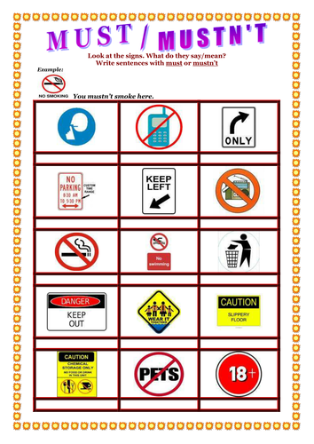 Rules based on Signs and Symbols