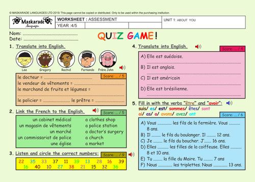Set De Coloriage Asterix U.Maskaradelanguages S Shop Teaching Resources Tes