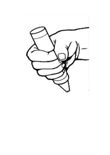 Pencil Grip Pictures / Posters