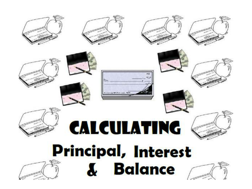 Principal, Interest and Balance