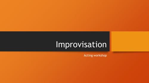 Improvistaion Workshop