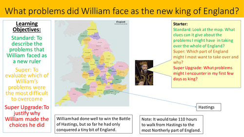 Can you solve William the Conqueror's problems?