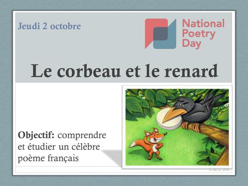 Jean De La Fontaine Poésie Fables Poetry Day