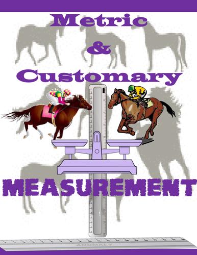Metric and Customary Measurement Horsey Worksheets