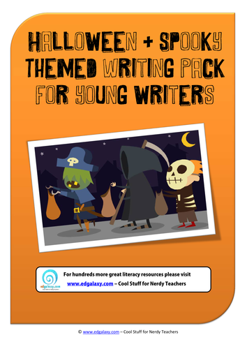 Halloween Themed Writing Pack