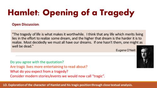 Hamlet: Tragic Hero