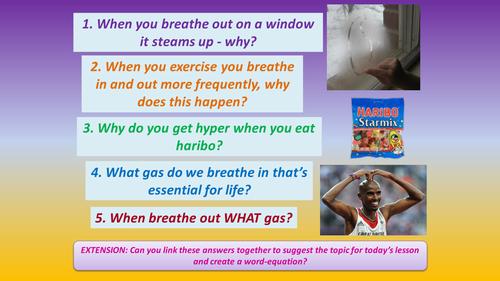 Aerobic/anaerobic respiration, using energy, mitosis and meiosis