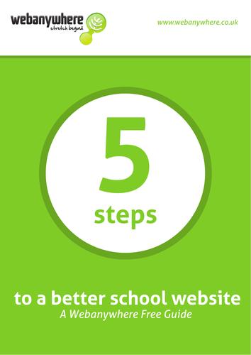 5 Steps to a better school website