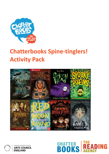 Halloween reading group or book club pack
