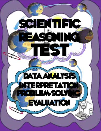Common Core Scientific Reasoning Test-High School