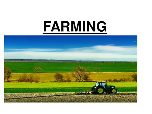 GCSE Biology - Intensive and Organic Farming ppt