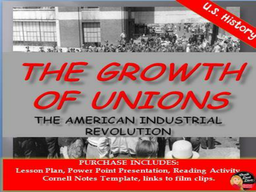 The industrial revolution the rise of labor unionsushistory by the industrial revolution the rise of labor unionsushistory by chalkdustdiva teaching resources tes toneelgroepblik Images