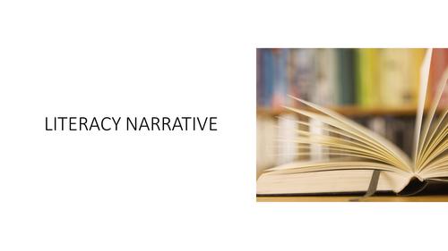 Literacy narrative essays