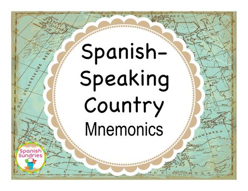 Spanish-Speaking Country Mnemonic