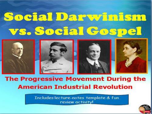 social darwin vs social gospel lecture u s history by social darwin vs social gospel lecture u s history by chalkdustdiva teaching resources tes