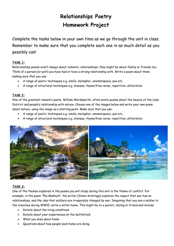 Holiday brochure persuasive writing