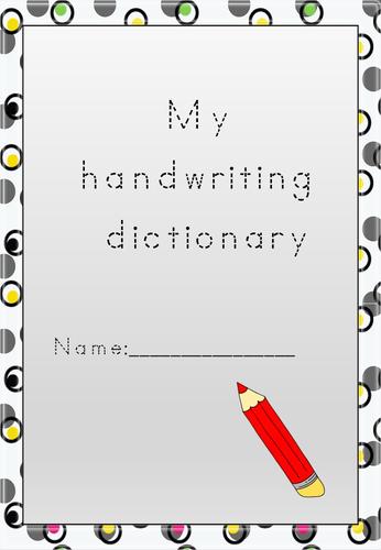 Handwriting Dictionary