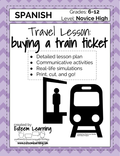 Travel Lesson - Buying a Train Ticket