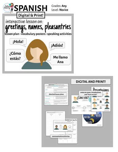 Spanish lesson on greetings name and how are you by spanish lesson on greetings name and how are you by contactesteemlearning teaching resources tes m4hsunfo
