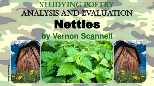 Nettles by Vernon Scannell