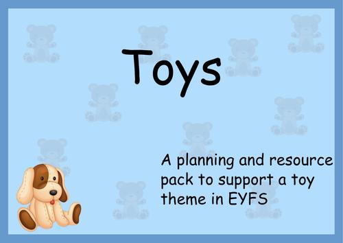 Preschool toys resources