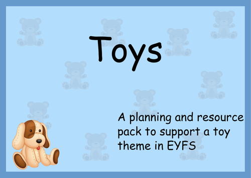 Toys/ Toy Shop: Planning, Role Play and Resources. Activities for EYFS and Reception.
