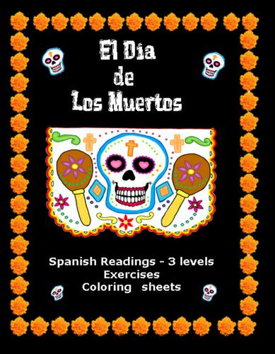 Día de los Muertos  Learning Packet – Lecturas y Más  by Lonnie Dai Zovi