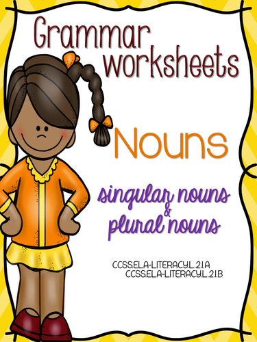 No Prep Nouns Mini-Unit