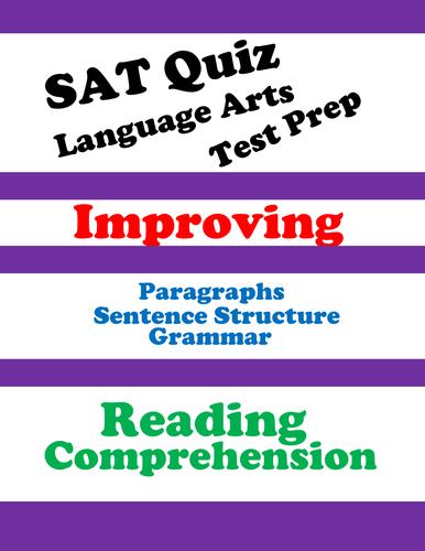 SAT Reading Practice Quiz (Grammar and Passage-Based Reading)