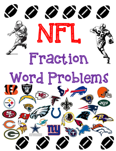Word Problems-NFL Fractions