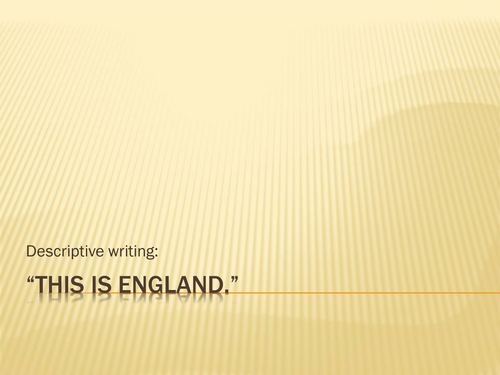 An English countryside walk: descriptive writing.