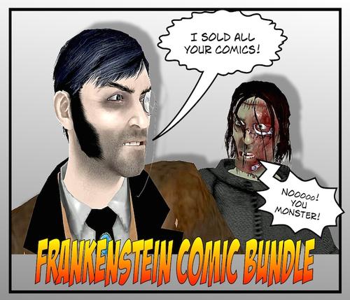 Frankenstein Comic Book Collection - Parts 1-3