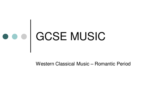 New AQA GCSE Music - Western-Classical-Music - The Romantic Period