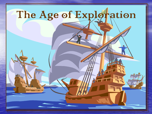 Editable Power Point 102 slide Age of Exploration