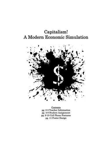 Capitalism! A Modern Economic Simulation