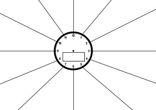 revision clock by teachgeogblog teaching resources tes