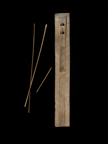 Teaching History with 100 Objects - Ancient Egyptian writing equipment