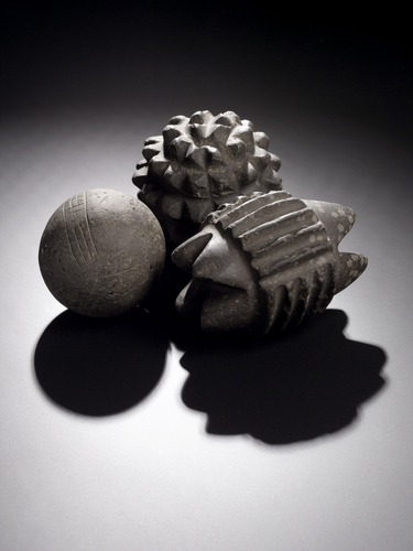 Teaching History with 100 Objects - Carved stone ball from Skara Brae