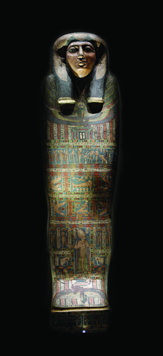 Teaching History with 100 Objects - The mummy and coffins of an Egyptian woman