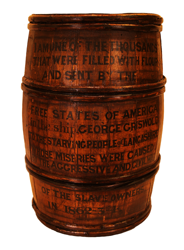 Teaching History with 100 Objects - Flour for Lancashire workers