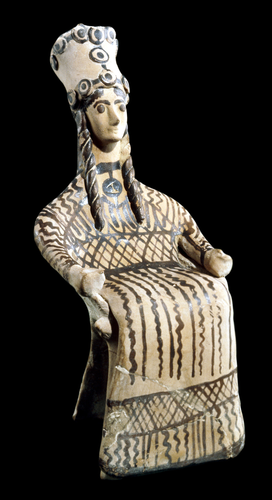 Teaching History with 100 Objects - A Greek goddess