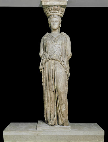 Teaching History with 100 Objects - Greek statue of a woman
